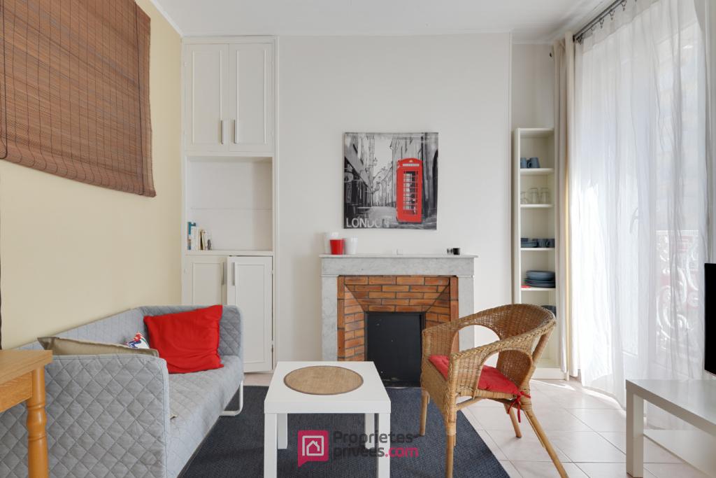 MARSEILLE (13002) LA JOLIETTE - Exclusivité - Appartement 3 pièces vendu meublé 42 m² environ