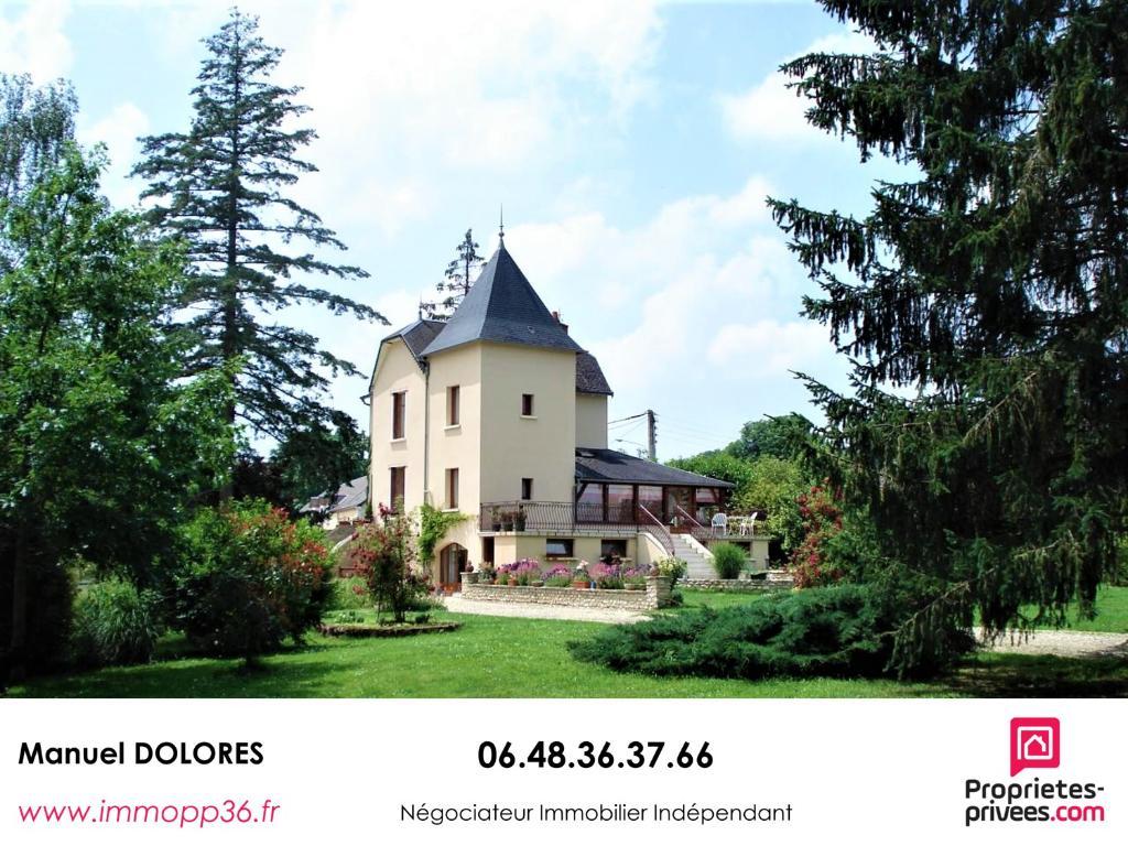 36110 ROUVRES LES BOIS - Villa de 180 m² - 4 chambres 3 salles d'eau
