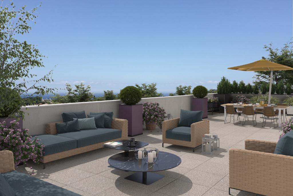 La Rochelle - Aytré - Dept 17- Appartement Neuf T5 Duplex 98m2, Terrasse +Balcon 47m2, 4ch-3ème étage