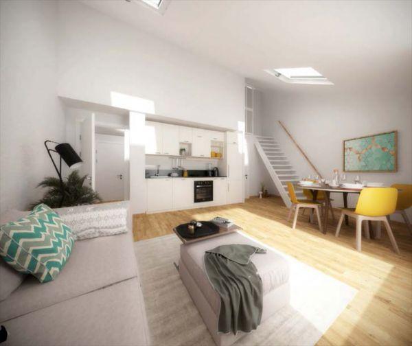 LA ROCHELLE CENTRE - Dept 17- Appartement Neuf T2 de 42.60m2 en 2ème étage