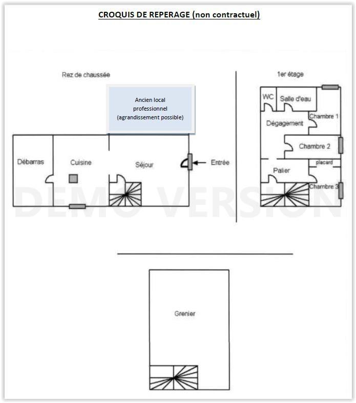 Vente Maison De Bourg 110 M Cantenay Epinard 49460: Vente Immeuble 78 M² ANGERS (49000