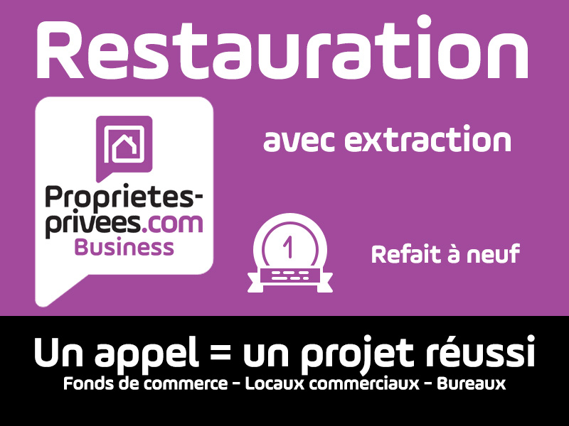 PARIS 75010 - Restaurant RESTAURATION RAPIDE