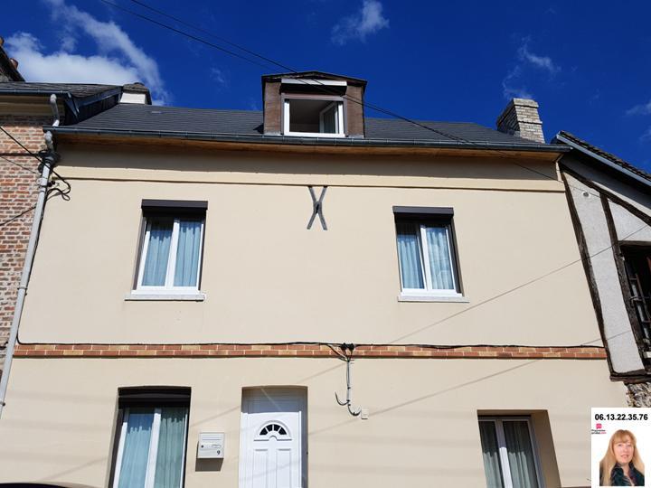Les Andelys centre - Maison de 117 m2 sur jardin de  511 m2 - Prix : 199.908