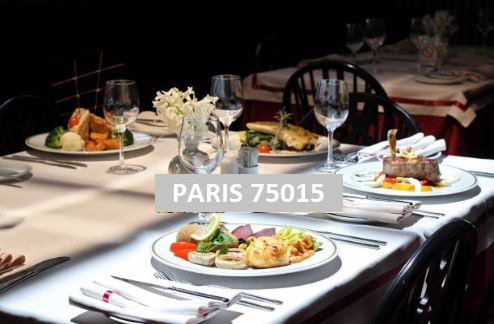 PARIS 75015 Restaurant Bar Licence 4 avec extraction