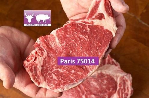 PARIS 75014 Boucherie Rôtisserie Charcuterie Traiteur