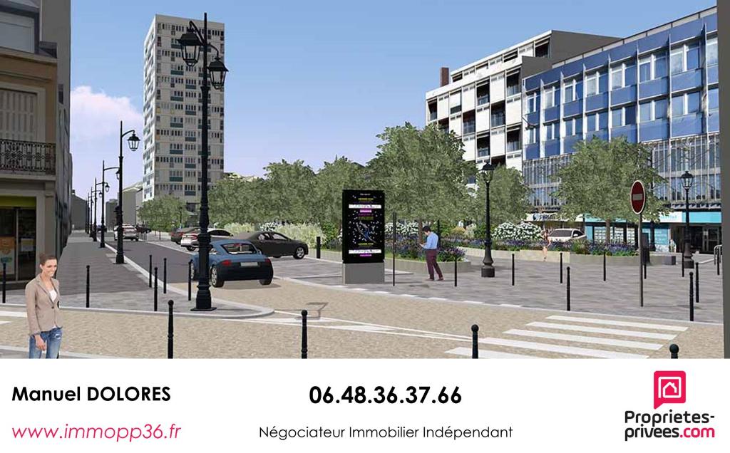 36000 CHÂTEAUROUX - Appartement coeur de ville