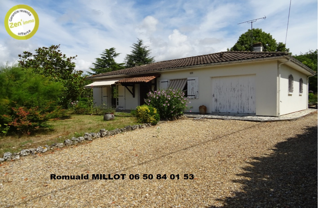Maison  plain pied 3 pièces 86 m2 à Puymoyen