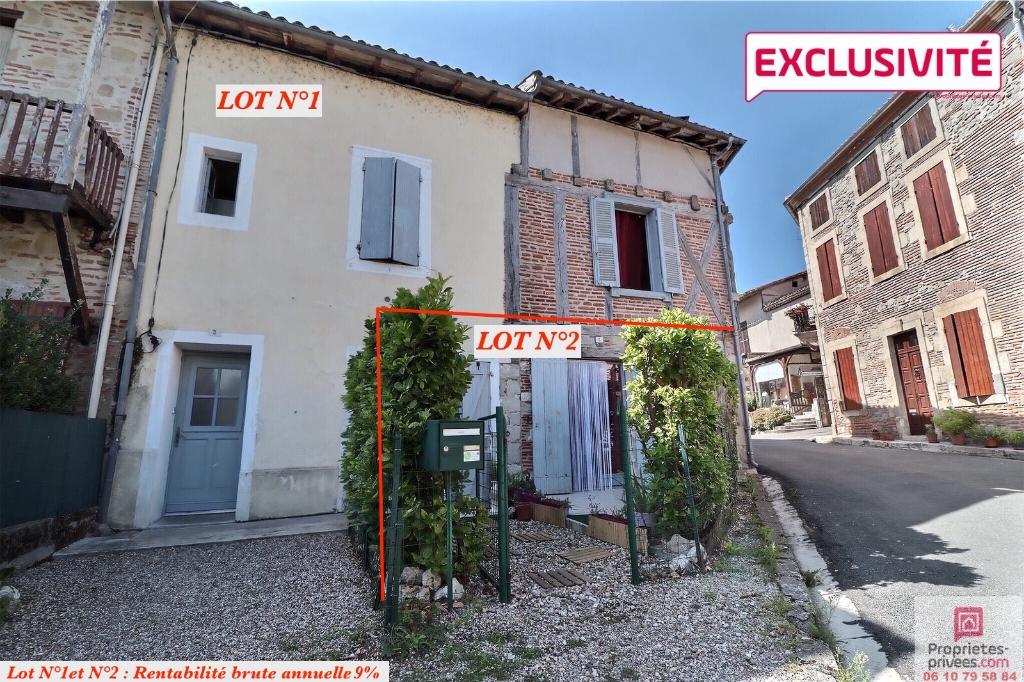Lot de 2 appartements, Casseneuil (47440)