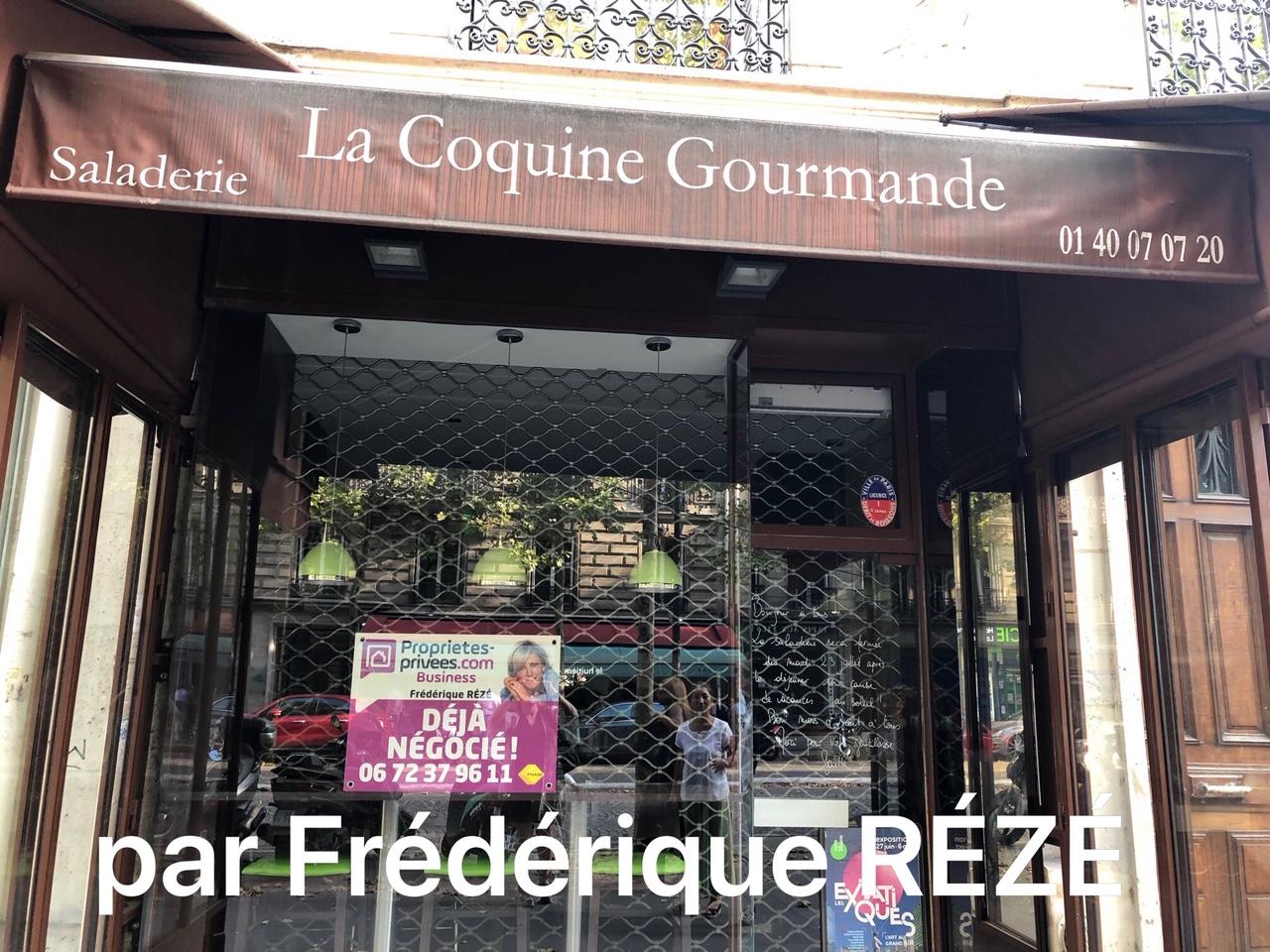 75008 PARIS : RESTAURATION RAPIDE