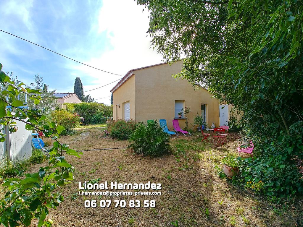 Ales Le Rieu, maison de 4P de 93 m² avec jardin au calme