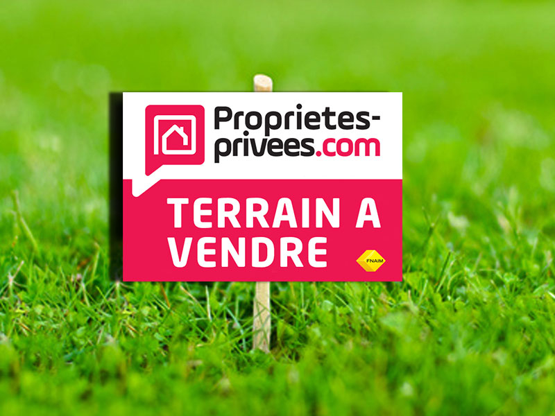 VENDOME 41100 TERRAIN CONSTRUCTIBLE DOUBLE ACCES