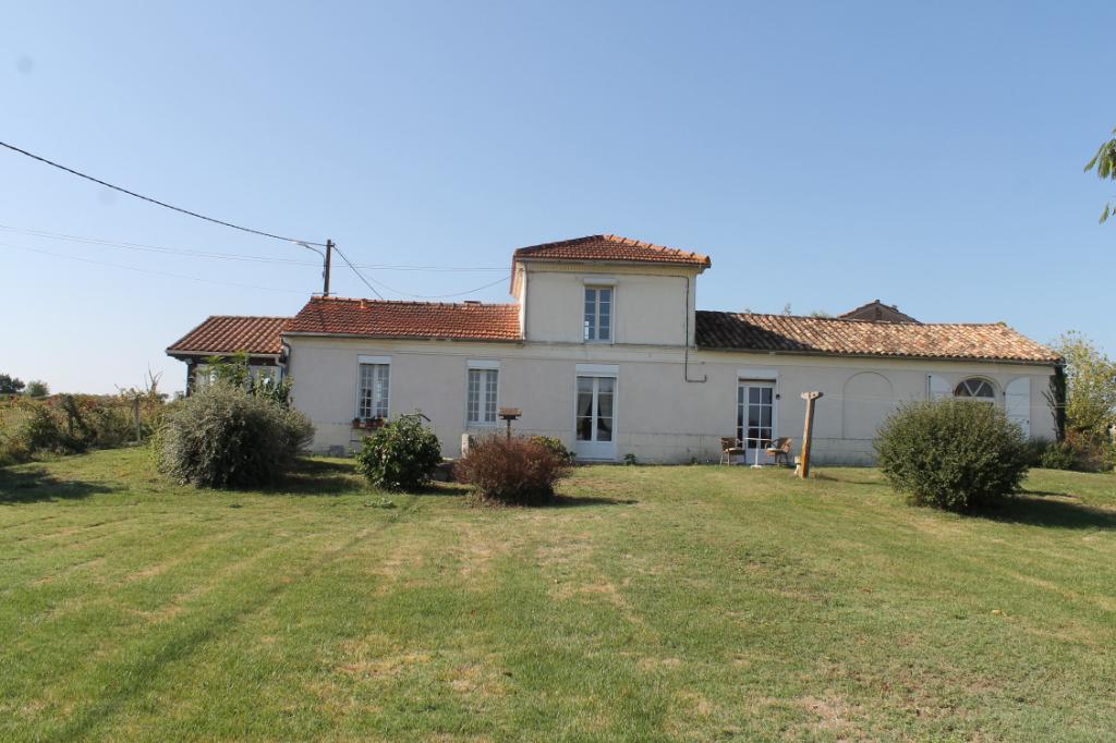 Maison 124 m², 2860 m² de terrain sans vis à vis