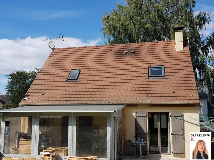 Hennezy proche, Maison de 2012 au calme de 96 m2 sur terrain de 1.060 m2 - Prix : 188.100