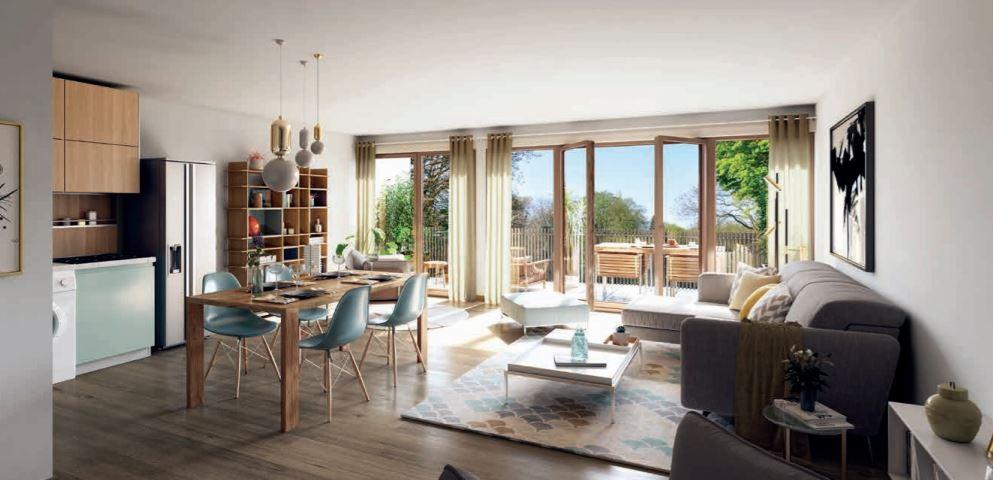Appartement à vendre Amiens 3 pièces 62 m2 avec terrasse
