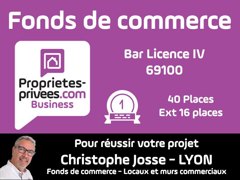 69100 VILLEURBANNE Bar Licence IV