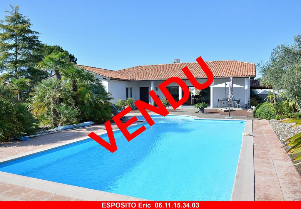 Villa Biscarrosse 6 pièce(s) 228 m2 + piscine sur 2245 m²