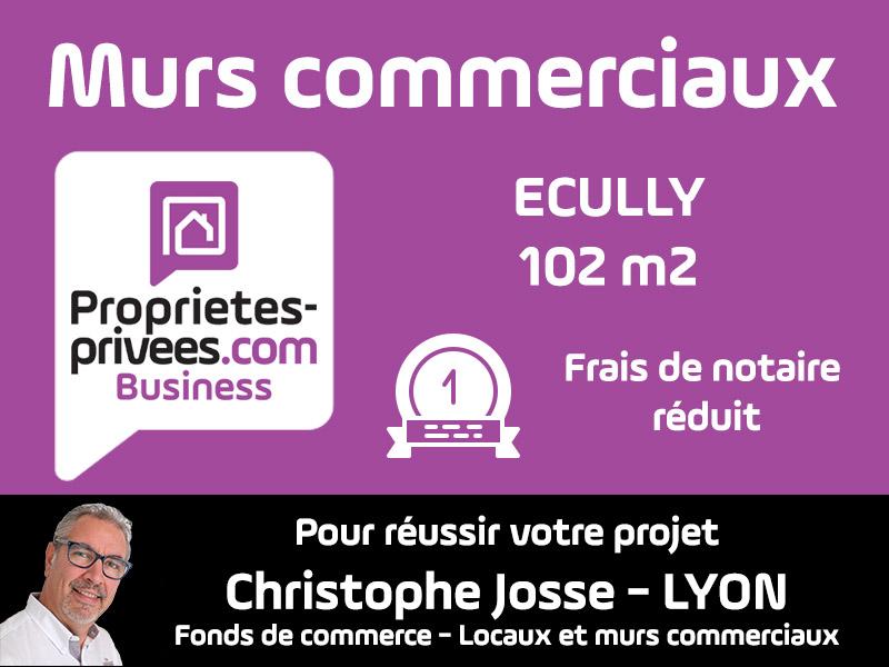 69130 ECULLY Murs commerciaux 102 m2