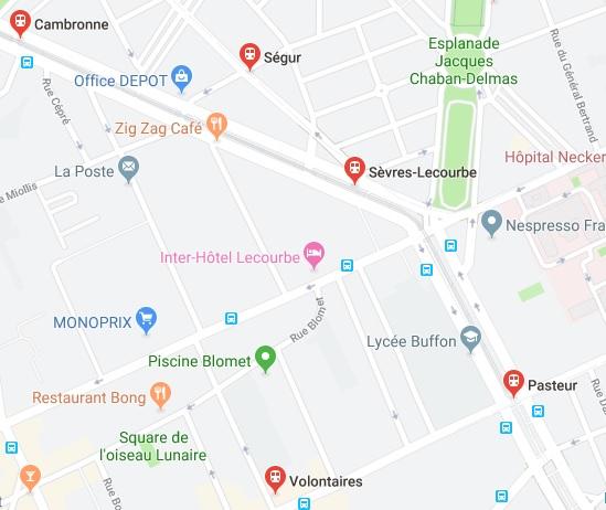 PARIS 75015 Sandwicherie, Saladerie, Traiteur, SANS EXTRACTION