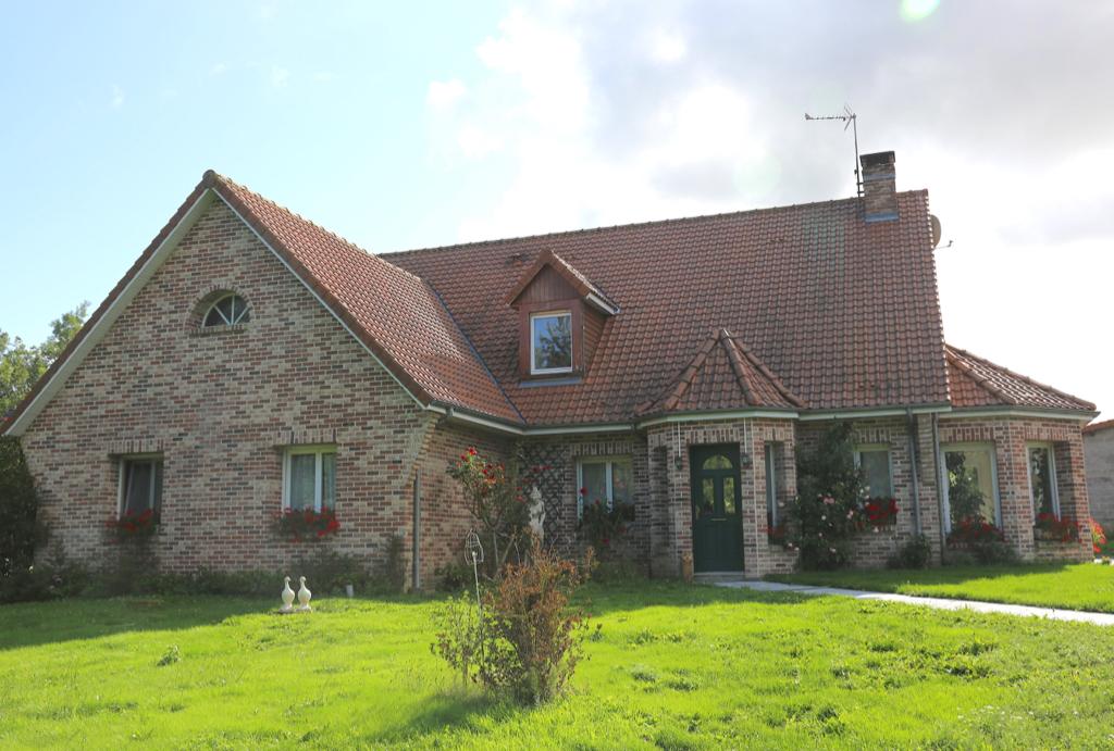 Maison 6 pièces sur 3400 m2 de terrain, wailly beaucamp