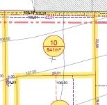 Terrain à bâtir, 841m², viabilisé, lot  N°10