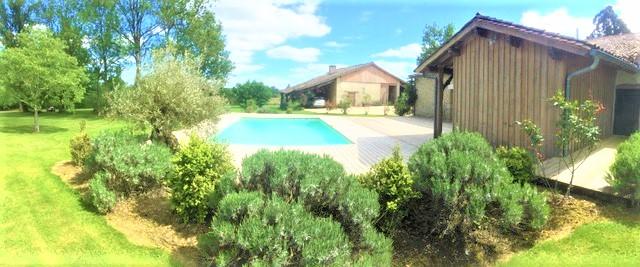 Maison en Pierre, 12 pièces, 6 chambres, terrain et piscine