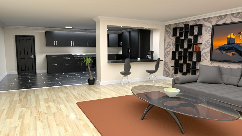 Appartement à vendre Amiens 3 pièces 64.65 m2 avec un grand balcon