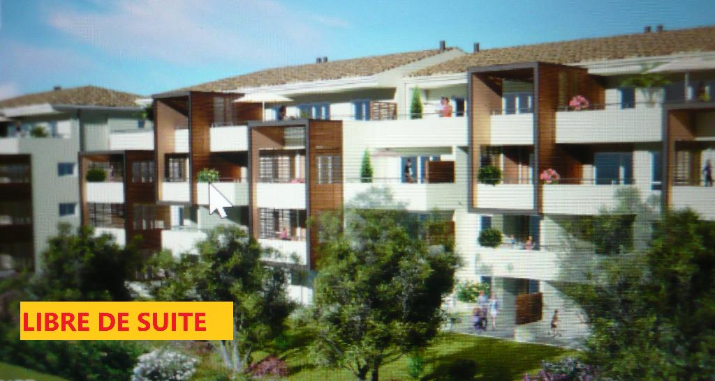 GARD.NIMES. 30000. Appartement neuf, disponible de suite, de 3 pièces de 64m2 avec terrasse de 13 m2 et jardin de 33 m2