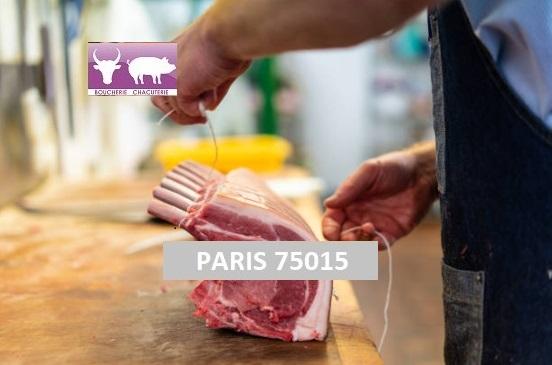 PARIS 75015 Boucherie, Charcuterie Traiteur Rôtisserie - restauration rapide