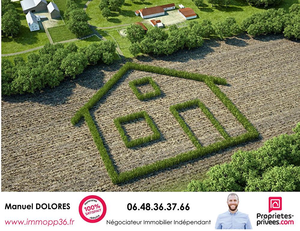 36330 LE POINCONNET - Terrain constructible (divisible)