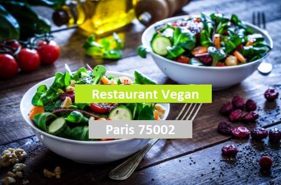 Paris 75002 Restaurant Vegan d'exception