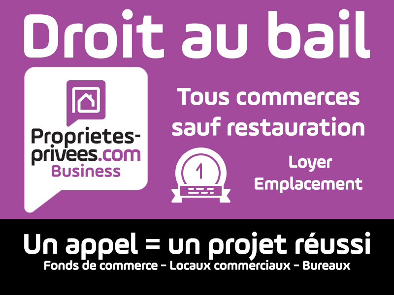 MANTES LA JOLIE - Boutique 100 m 2 - Emplacement n°1 Centre ville