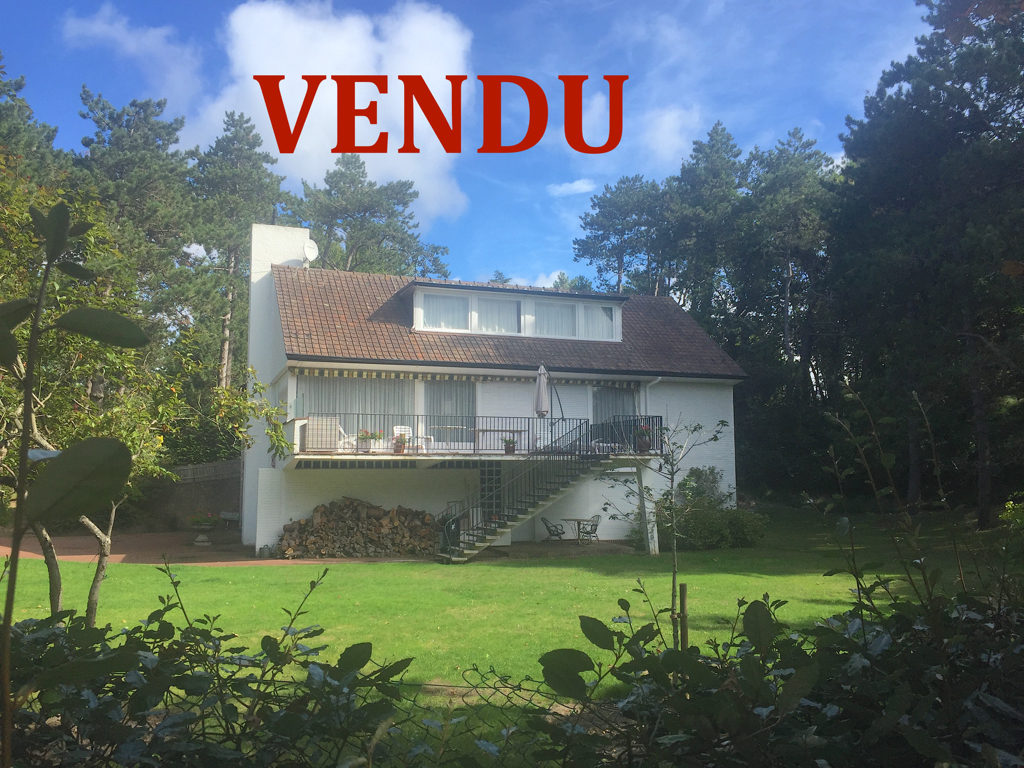 Villa, Le Touquet Triangle d'or