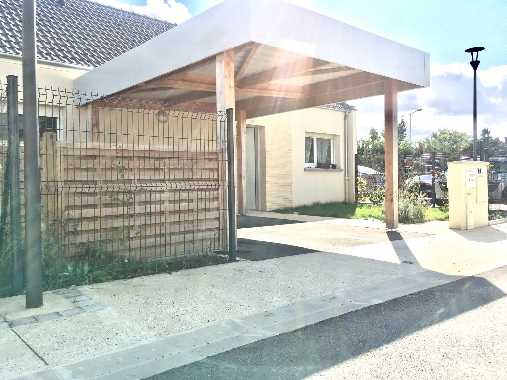 Maison à vendre Amiens 3 pièces 63 m2 avec jardin sans vis à vis, 2 parkings