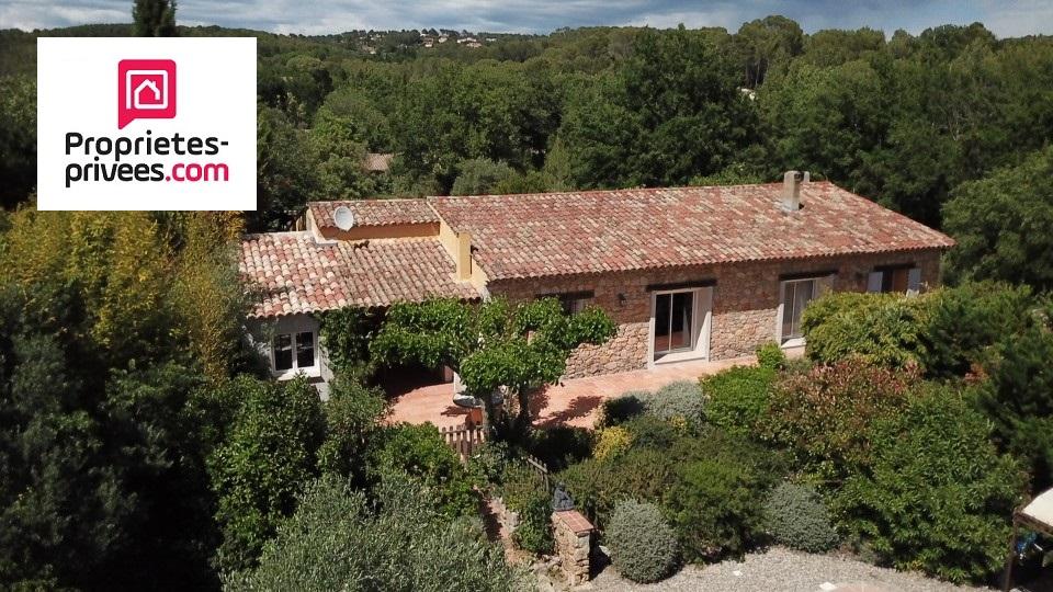 Lorgues villa 5 pièces 185 m2 sur 1800 m²