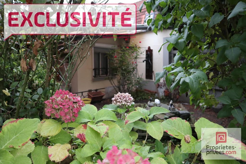 Roubaix (59100), maison de courée, 4 pièce(s), 55 m2 avec jardin