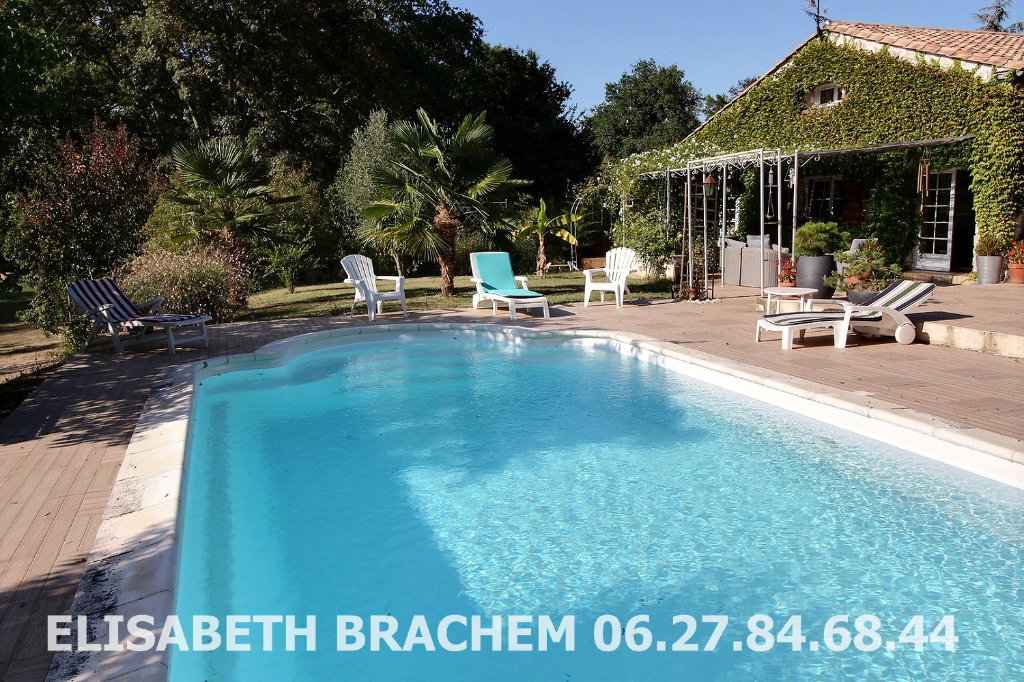 DEMEURE  DE CHARME - 10 pièces - 3 chambres - mezzanine - piscine  - garages