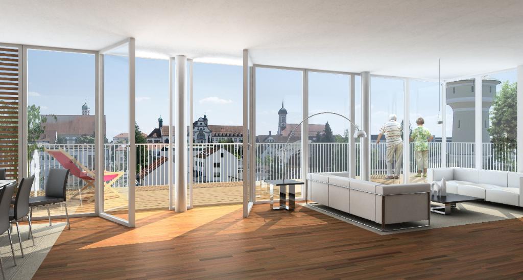 Appartement  3 pièces 59.43 m2 avec une terrasse de 19 m2