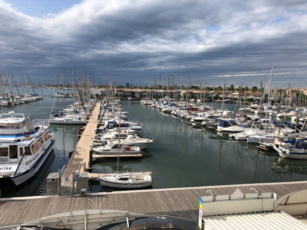 Hérault, Cap D'Agde 34300, Appartement  2 pièces, Centre -Port, vue mer, Fort Brescou