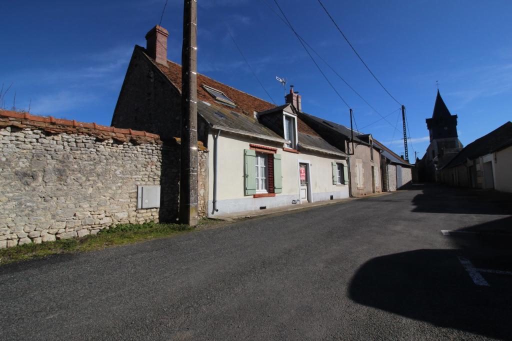 45170 Maison + grange Ascheres Le Marche sur 345m2 de terrain