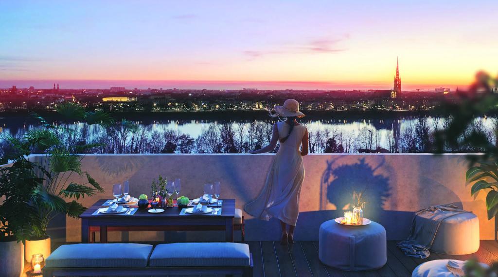 Appartement T4 de 98,26 m2 - Bordeaux (33000)
