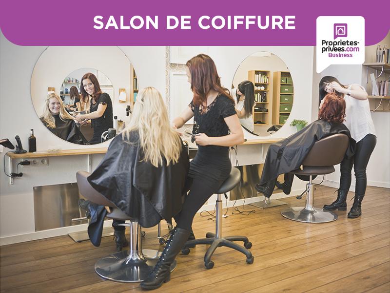 LES MUREAUX - 78130 -SALON DE COIFFURE  Centre Ville - Barbershop
