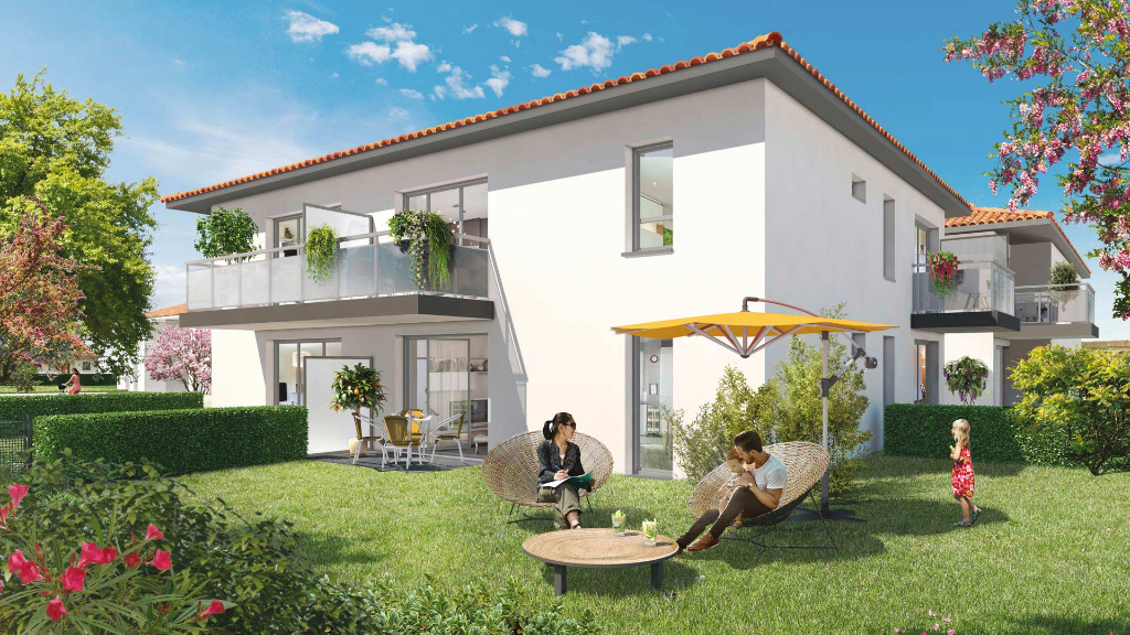 Appartement Toulouse 3 pièces  neuf 60.30 m2