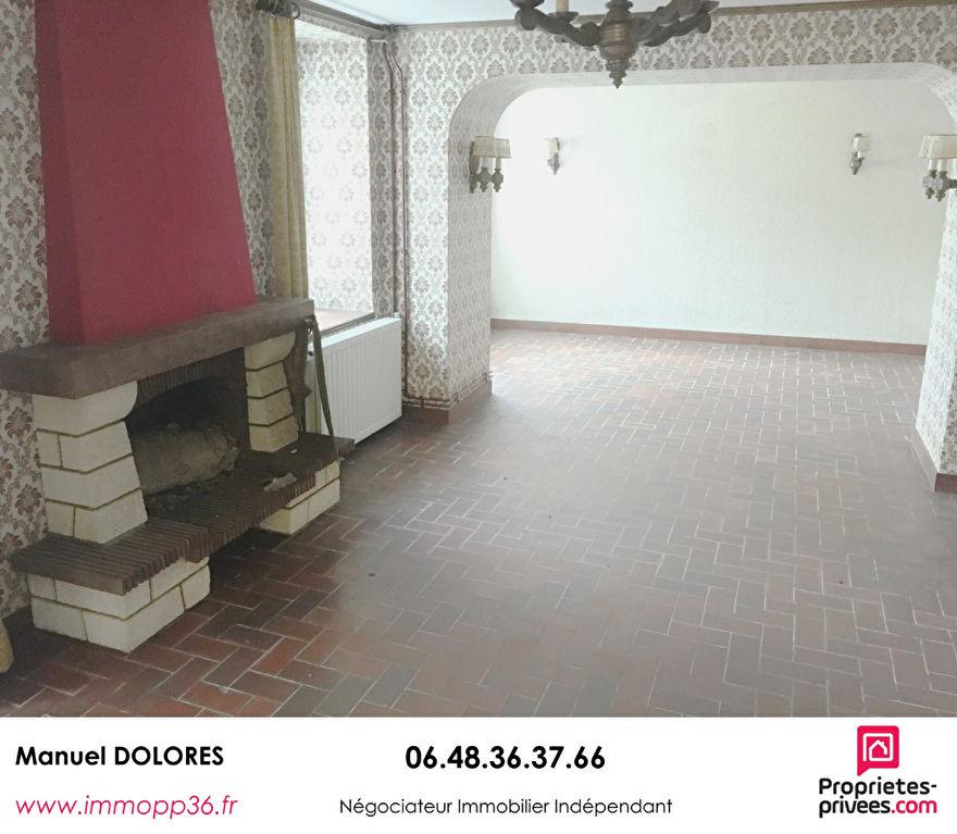 36150 VATAN - Maison de ville 3 chambres avec garage