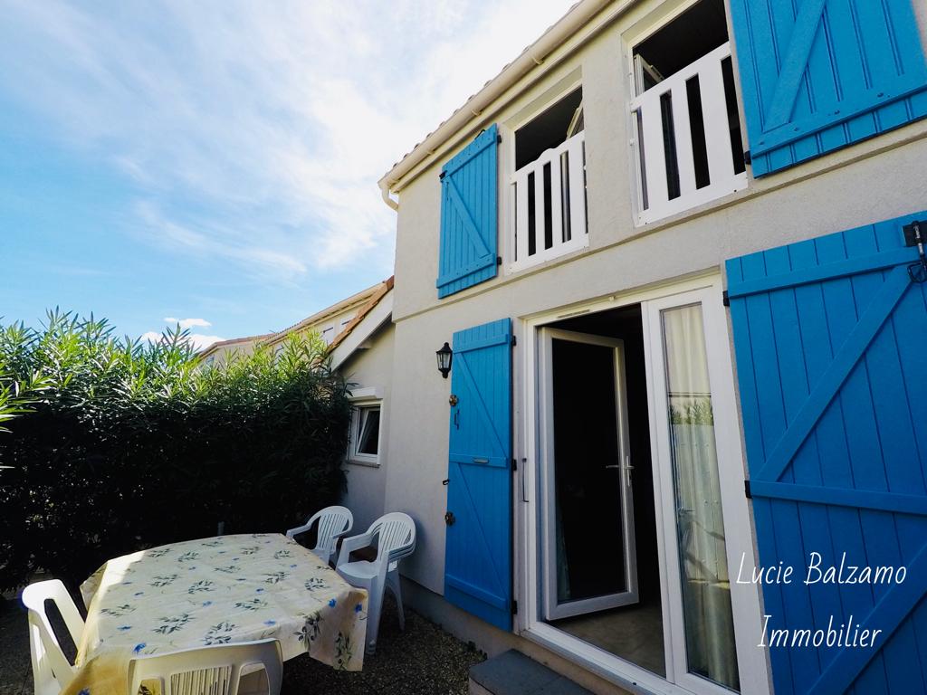 Maison Marseillan T3 avec cabine 38 m2