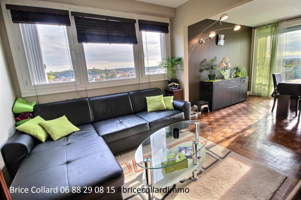 60180 NOGENT SUR OISE Appartement 95m2 duplex 3 chambres 1 balcon