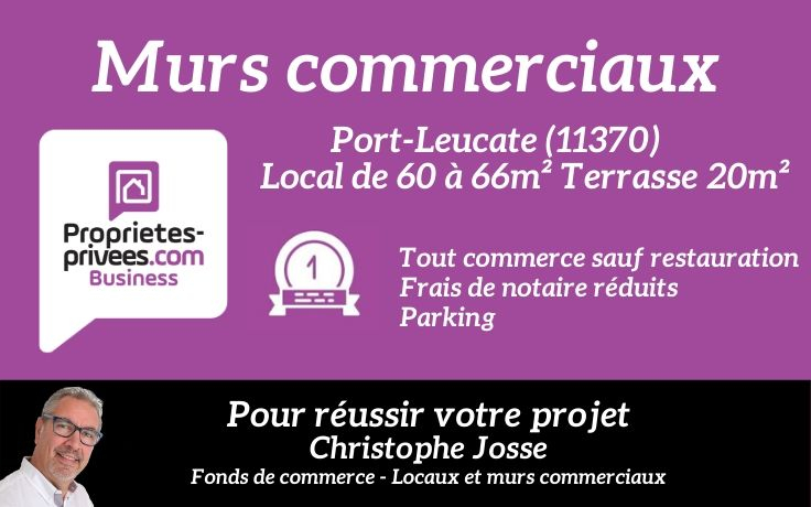 11370 Murs commerciaux Port Leucate 60.95 m2