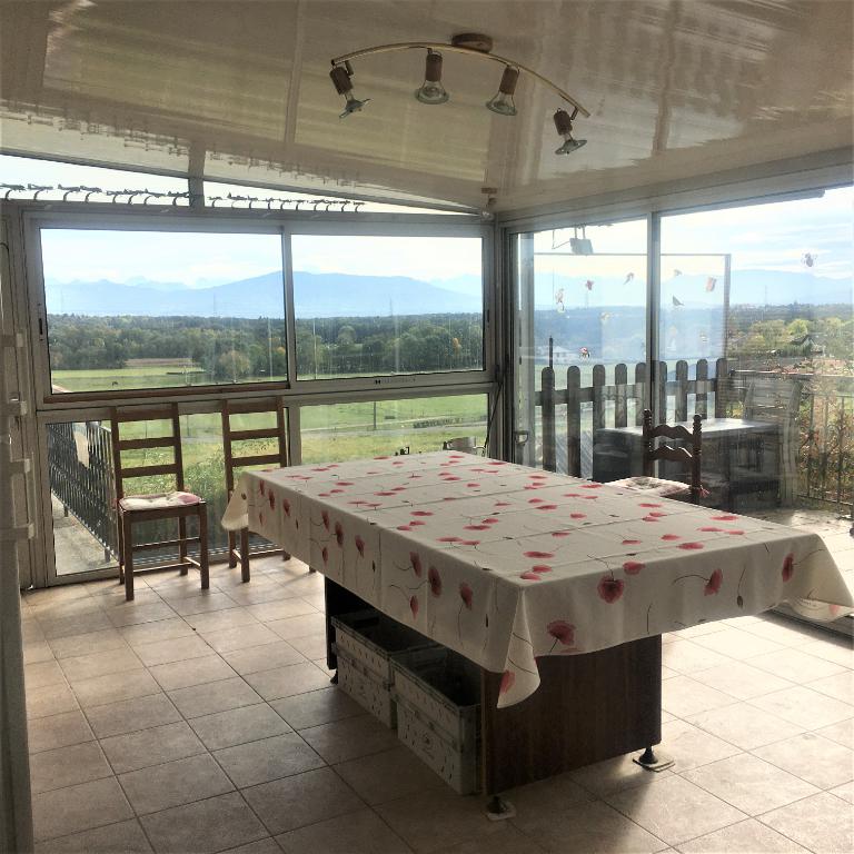 01220 Maison individuelle 126 m² - terrain 1700 m² - Vue sur Mont Blanc