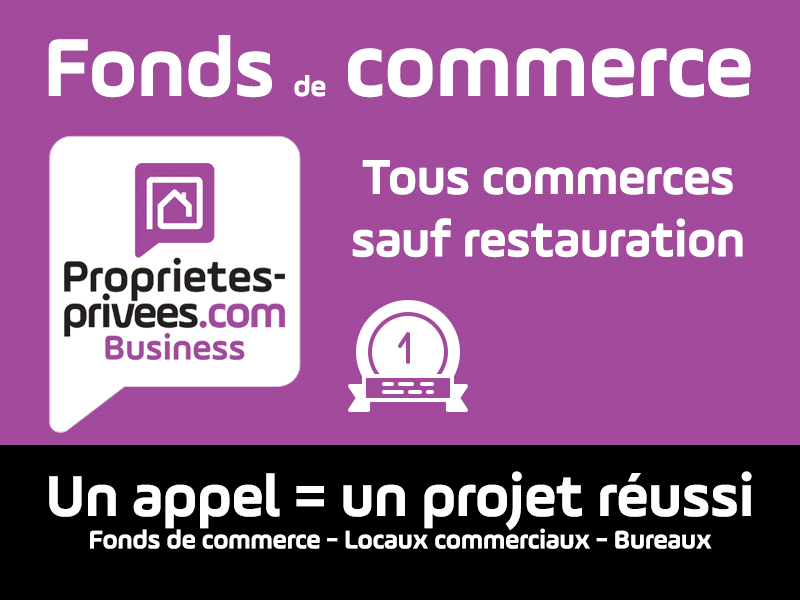GUERANDE - LOCAL 148 M² - ZONE COMMERCANTE