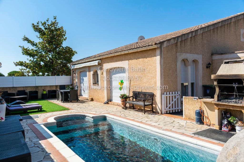Belle villa de 143m² de plein pied avec Piscine