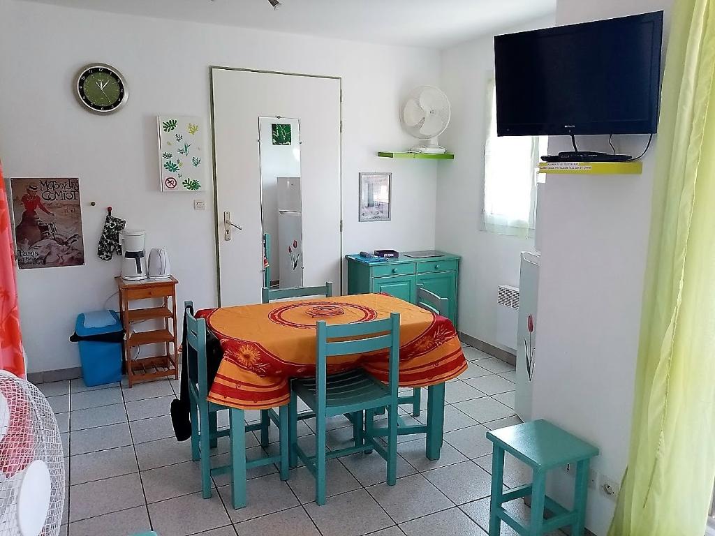 1 chambre, terrasse